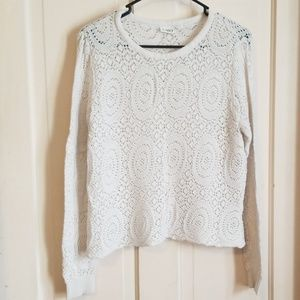 Cato knitted sweater white size xl
